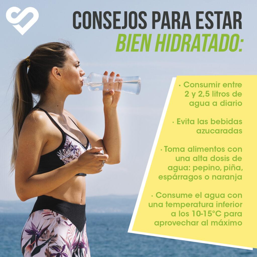 hidratación y ejercicio físico