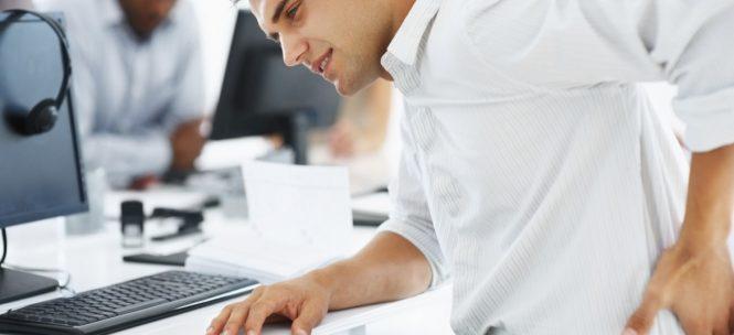 Consejos para no sufrir dolor de espalda en el trabajo